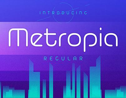Metropia Typeface