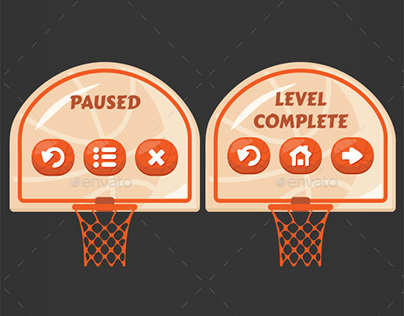 Basketball Brick Breaking Game Kit