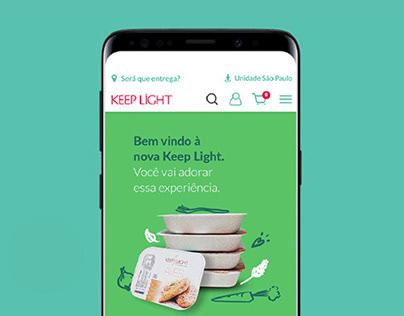 Novo site Keep Light