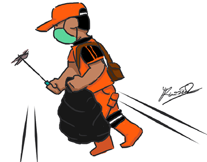 Doodle Doodle - Jakarta Orange Team