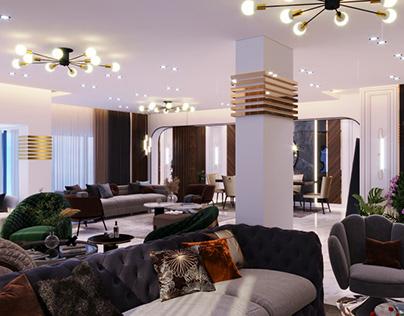 Luxury Resception Design