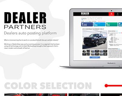 Dealer Partners is a car posting tool web app