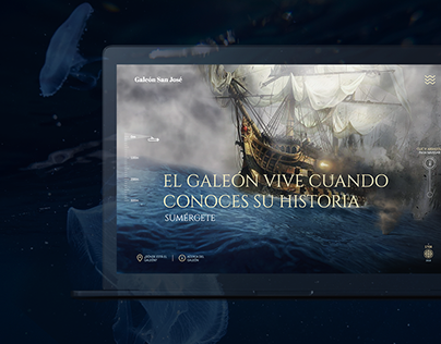 Galeón San José - Website