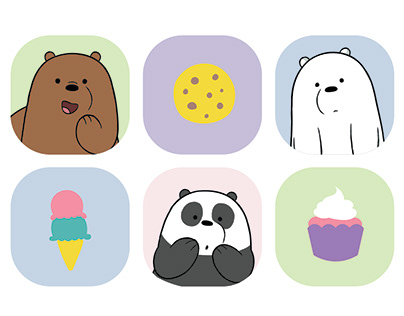 We Bare Bear Projects Photos Videos Logos Illustrations And Branding On Behance