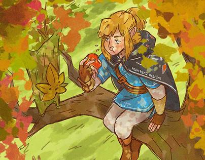 Zelda Breath of the Wild - Ilustración Digital