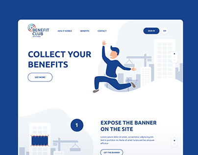 Logo and Microsite Concept for Benefit Program