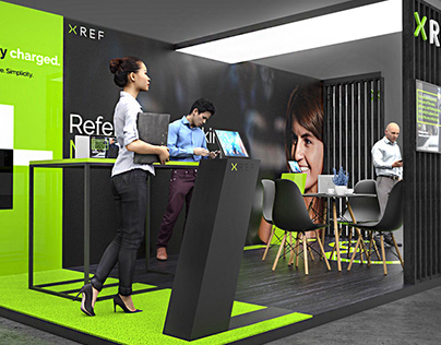 XREF exhibition booth