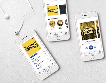 GH Podcast App