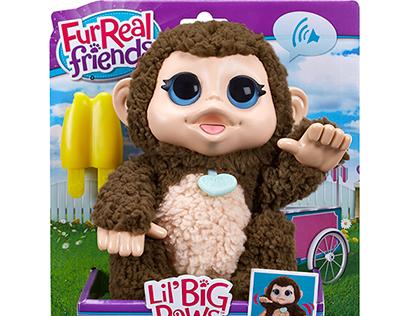 Hasbro FurReal Friends Lil' Big Paws: Spring '16