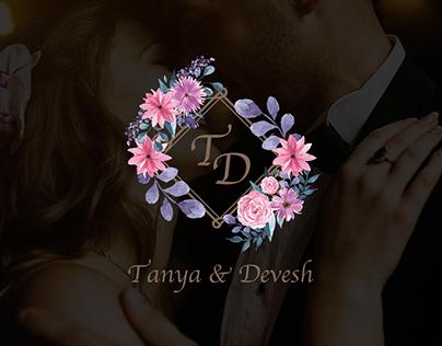 Wedding 👰🏻🤵🏻 : Logo Design