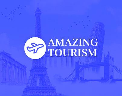Amazing Tourism Web Page Design