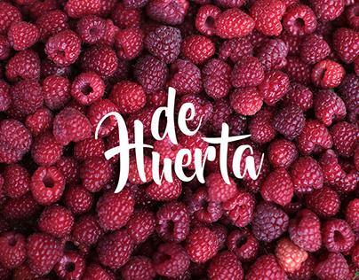 De Huerta | Extractos naturales