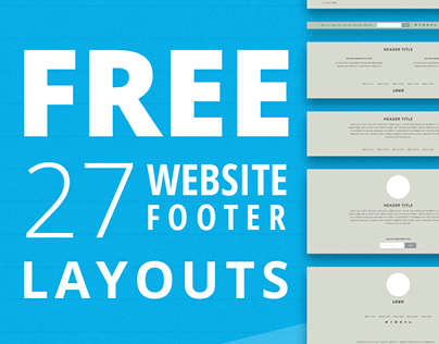 Free 27 Website Footer Layouts