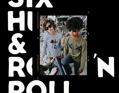 Six Hugs & Rock 'n Roll - Apparel Prints