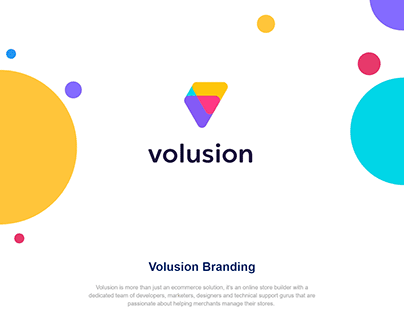 Volusion Logo Design