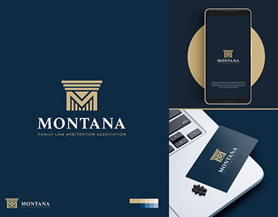 Logo design for a law firm called: Montana