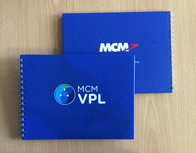 Branded booklets for MCM Telecom