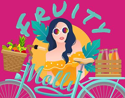 Fruity Molly   Brand Design