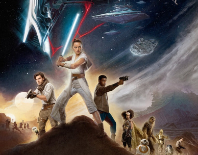 Star Wars: The Rise of Skywalker - Real D 3D Poster