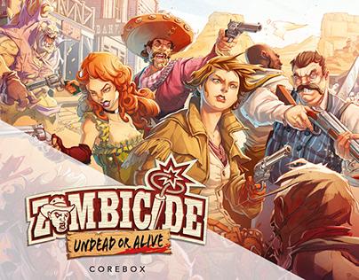 Zombicide: Undead or Alive_COLORIST PORTFOLIO
