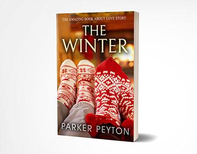 The winter book cover design
