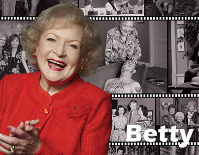 Betty White Poster