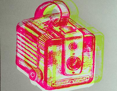SÉRIGRAPHIES   caméras