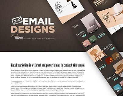 Email Marketing Design/Newsletter Design/Email Blast