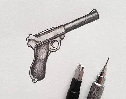 Dessins au crayon
