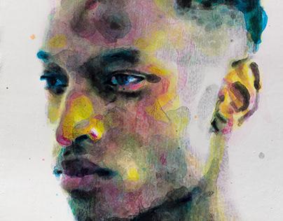 Painting project - Othello Portrait