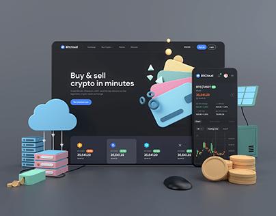 BitCloud - Crypto Exchange UI Kit