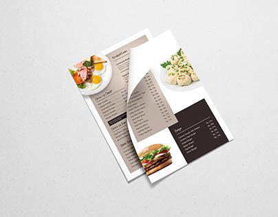 Oven Fresh Bakery | Menu