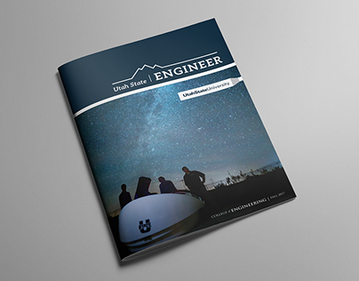 Utah State Engineer Magazine & Logo Design