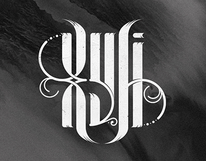 Lettering collection (Вязь)