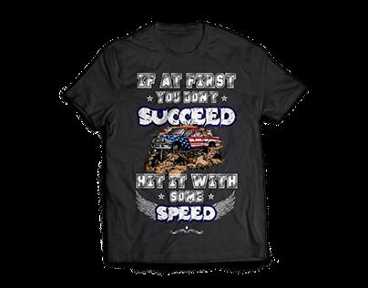 T shirt Design - Off-Roading