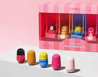 ETUDE X DISNEY TSUM-TSUM COLLECTION ENDORSER KIT