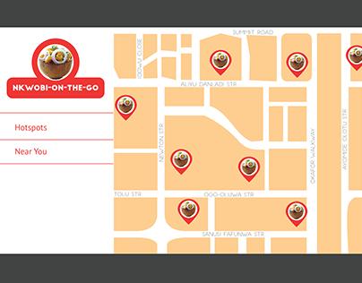 Daily UI Design 20 - Location Tracker