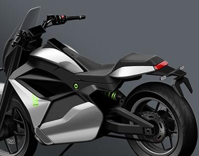 Ather Cruiser Motorcycle Concept