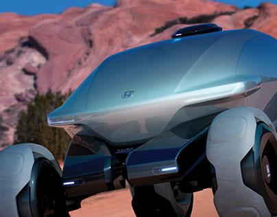 Honda x Asimo Off-Road Machine