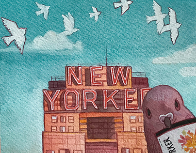 NYC Illustrations: New Yorker