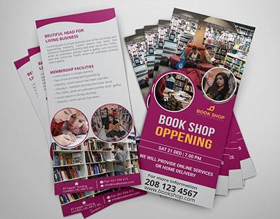 Book / Burger Shop DL Rack Card