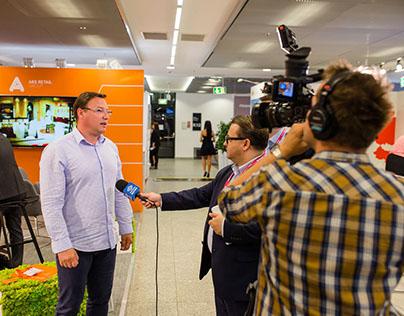 ARS Retail Group stand ReDI 2016 / Warsaw
