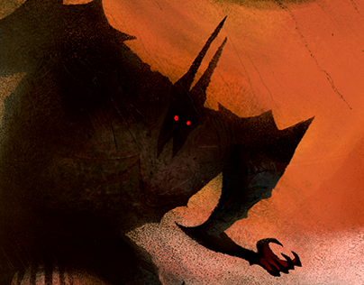 Fingolfin against Morgoth