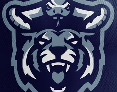 Python/Tiger Sports Logo For Sale