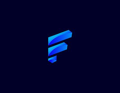 Fogan Logo Design- Modern F letter Logo