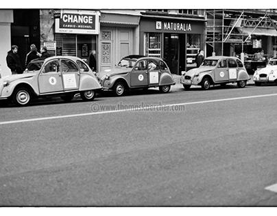 2CV Convoy, Paris