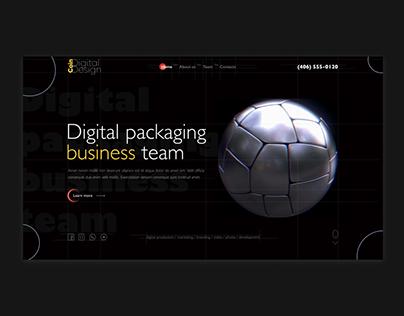 Business packaging studio