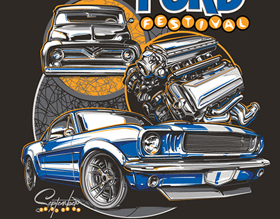 Ford Fest Tee