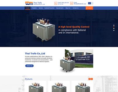 Design Demo Website Thai Trafo