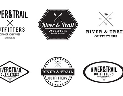 Logo Concept for Rafting Company